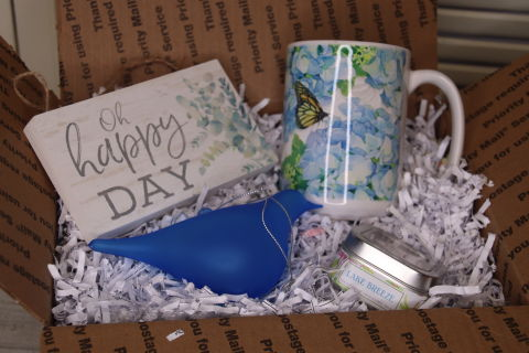 Blue bird of happiness package
