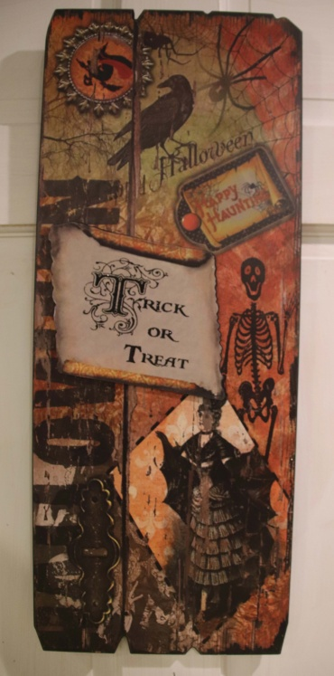 Trick or treat decor