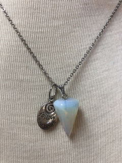 Moonstone colored pendant