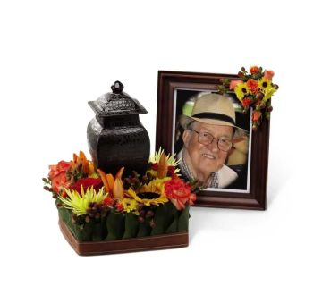 Glorious Tribute cremation arrangement