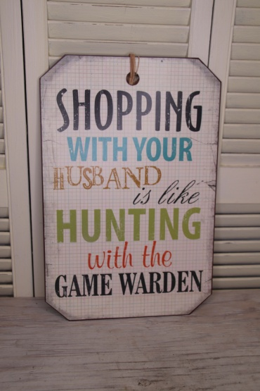 Shopping with your husband Sale