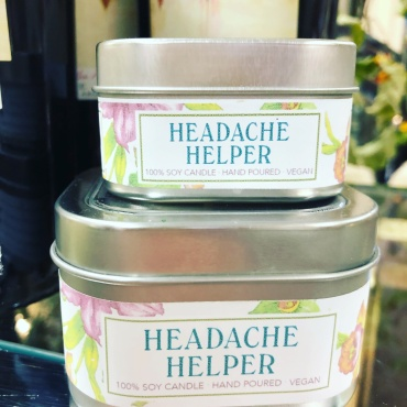 Headache Helper candle