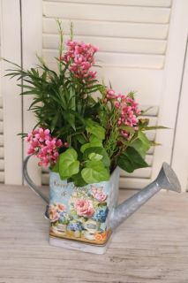 Soft watering can planter