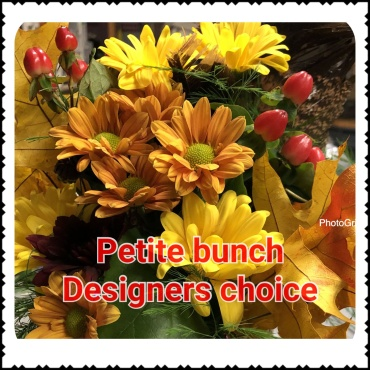 Bunches loose flowers Petite