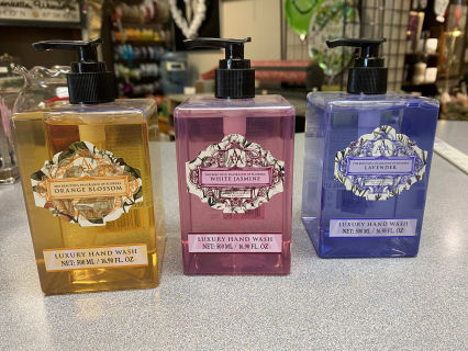 Floral soft hand soap